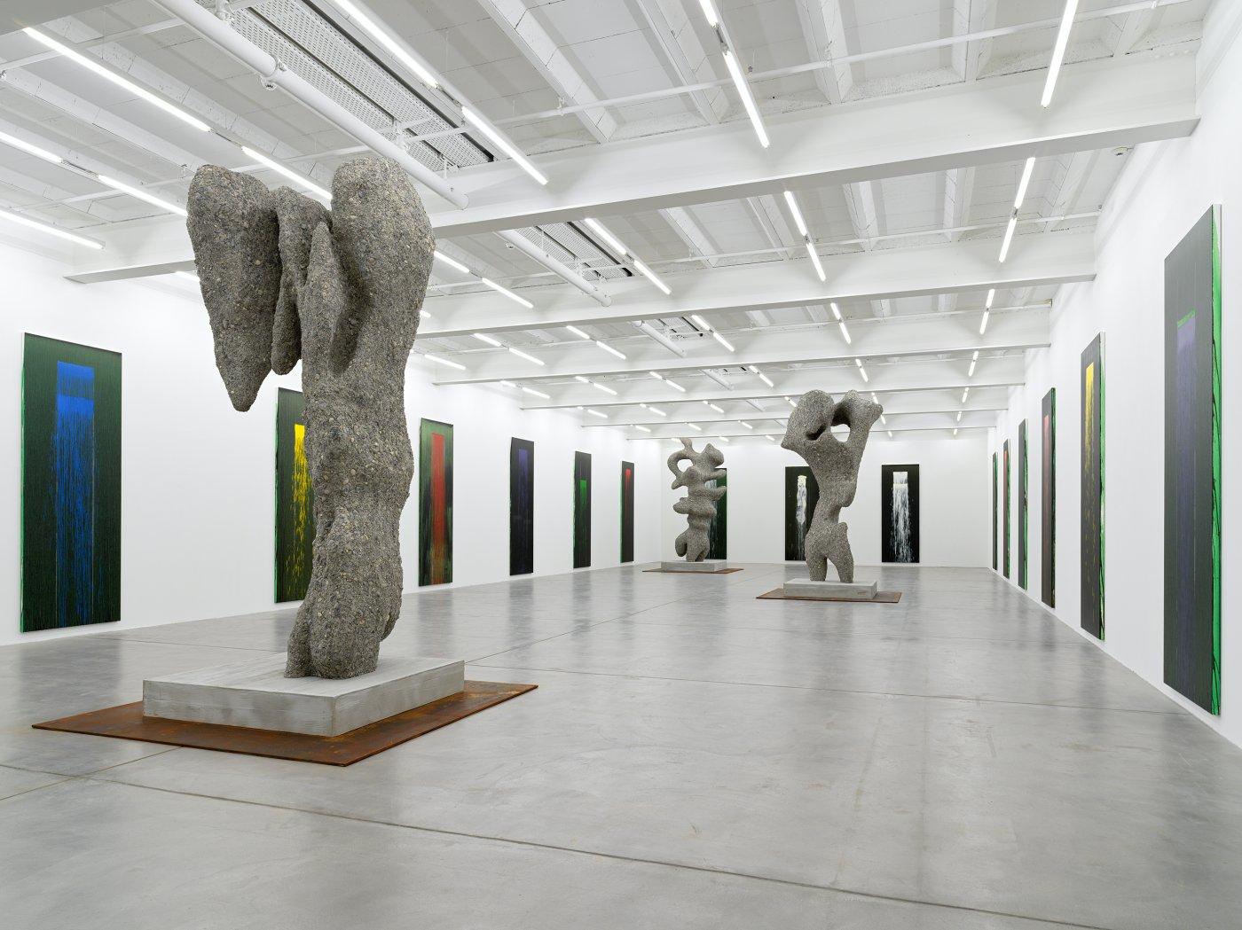 Galerie Eva Presenhuber Pat Steir Ugo Rondinone 2