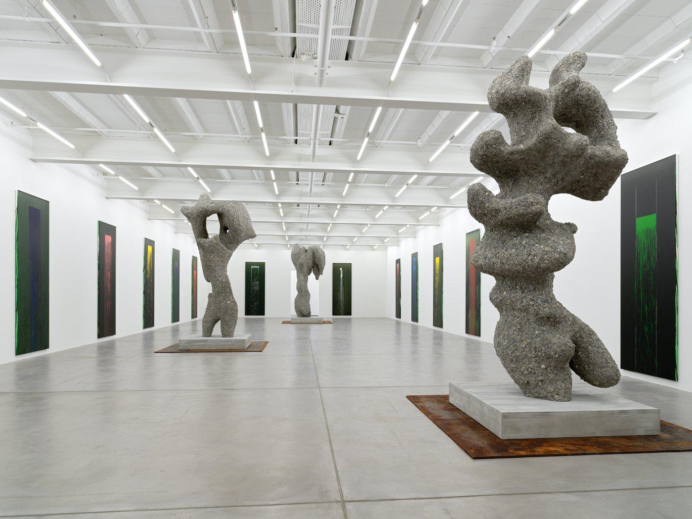 Galerie Eva Presenhuber Pat Steir Ugo Rondinone 4