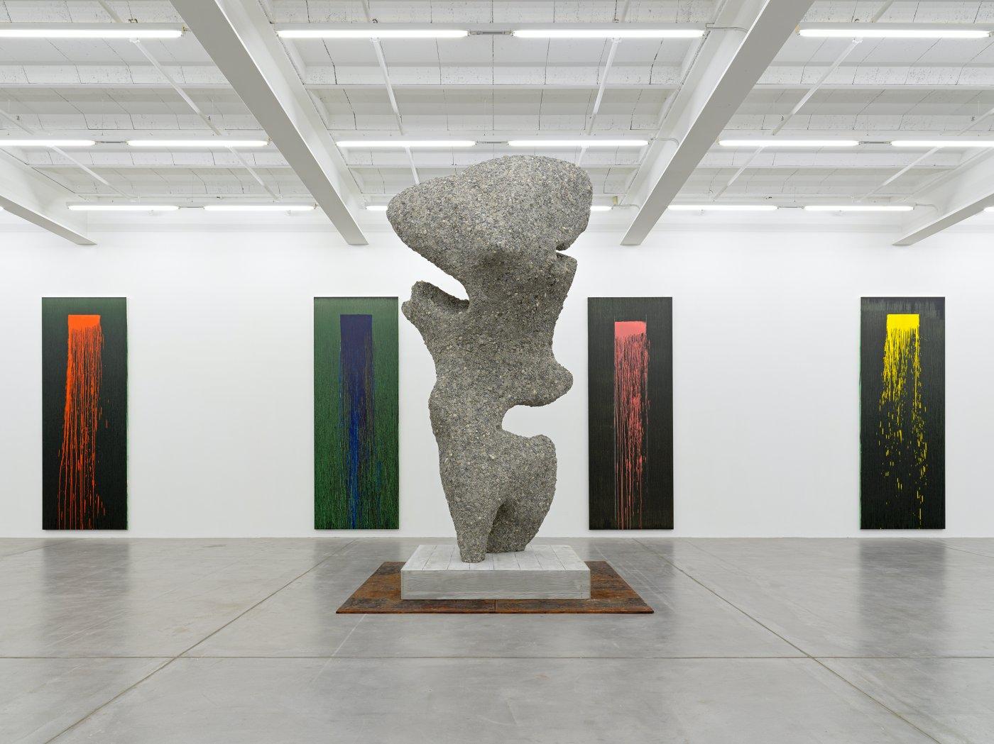 Galerie Eva Presenhuber Pat Steir Ugo Rondinone 5