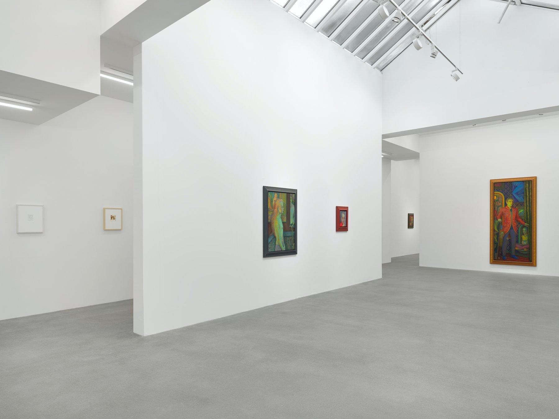 Galerie Eva Presenhuber Waldmannstrasse Steven Shearer 1
