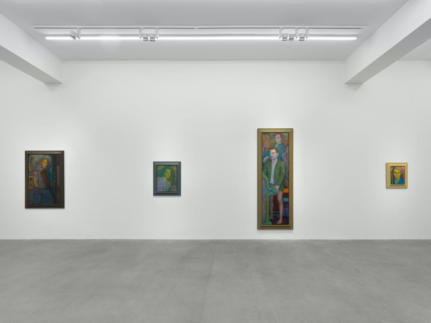 Galerie Eva Presenhuber Waldmannstrasse Steven Shearer 4