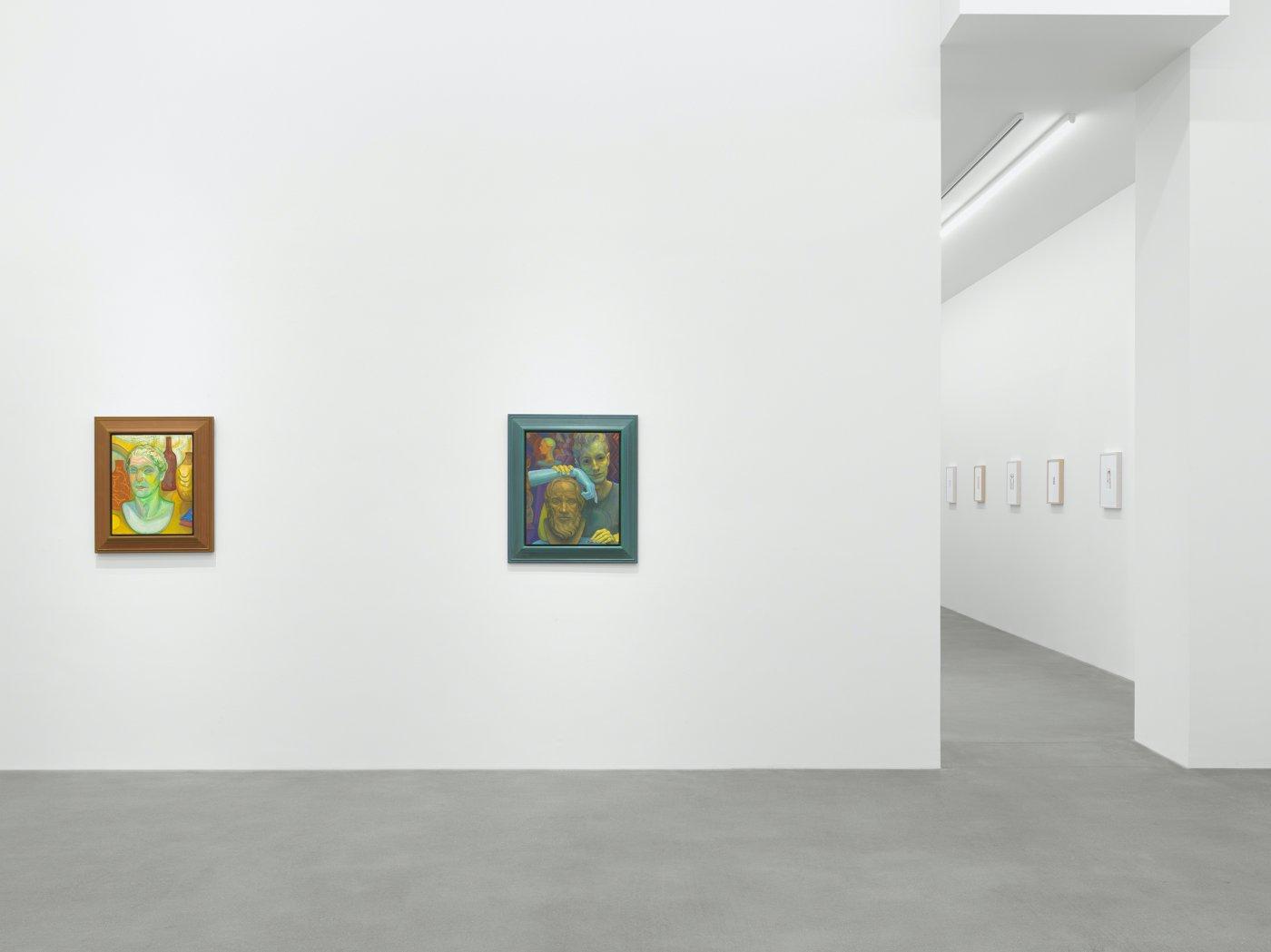 Galerie Eva Presenhuber Waldmannstrasse Steven Shearer 9