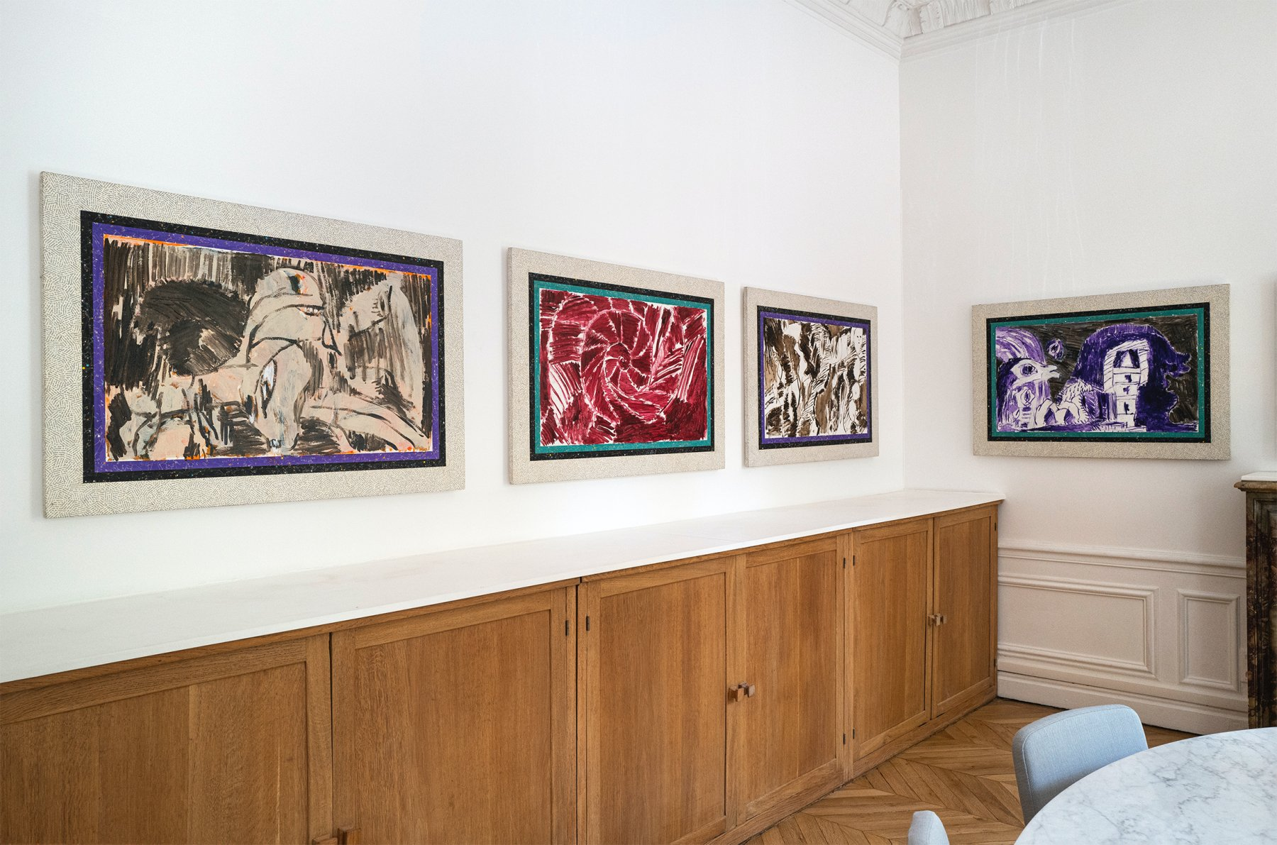Galerie Lelong Co Alechinsky with 1