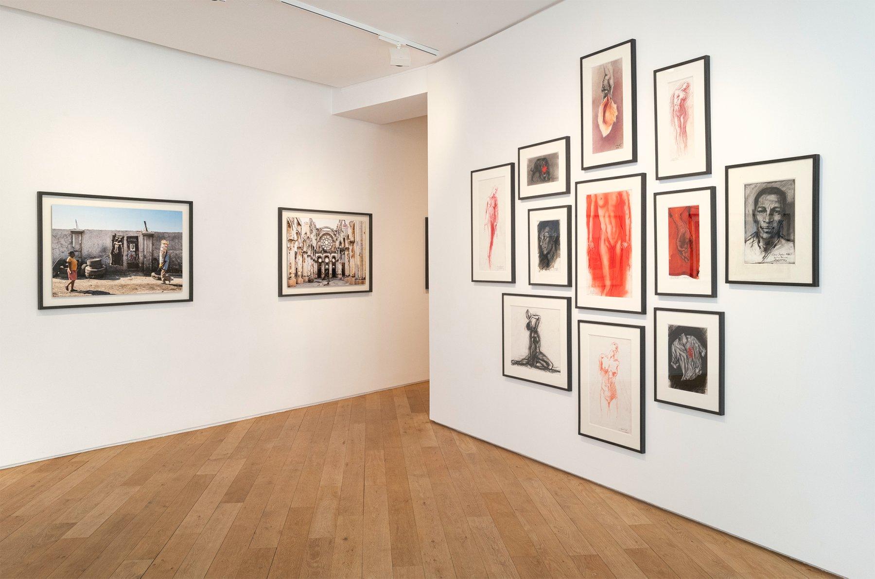 Galerie Lelong Co Matignon Ernest Pignon-Ernest 1