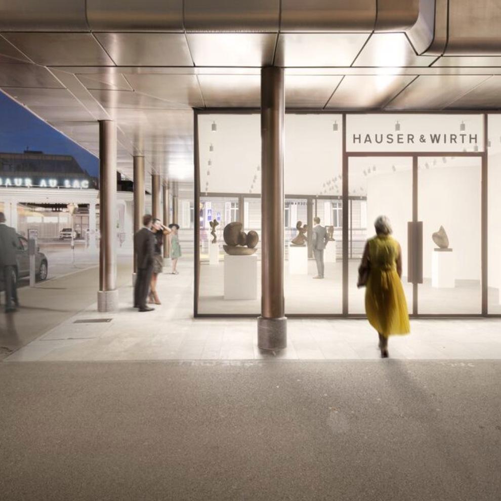 Arp: Art is a Fruit @Hauser & Wirth Bahnhofstrasse 1, Zürich  - GalleriesNow.net