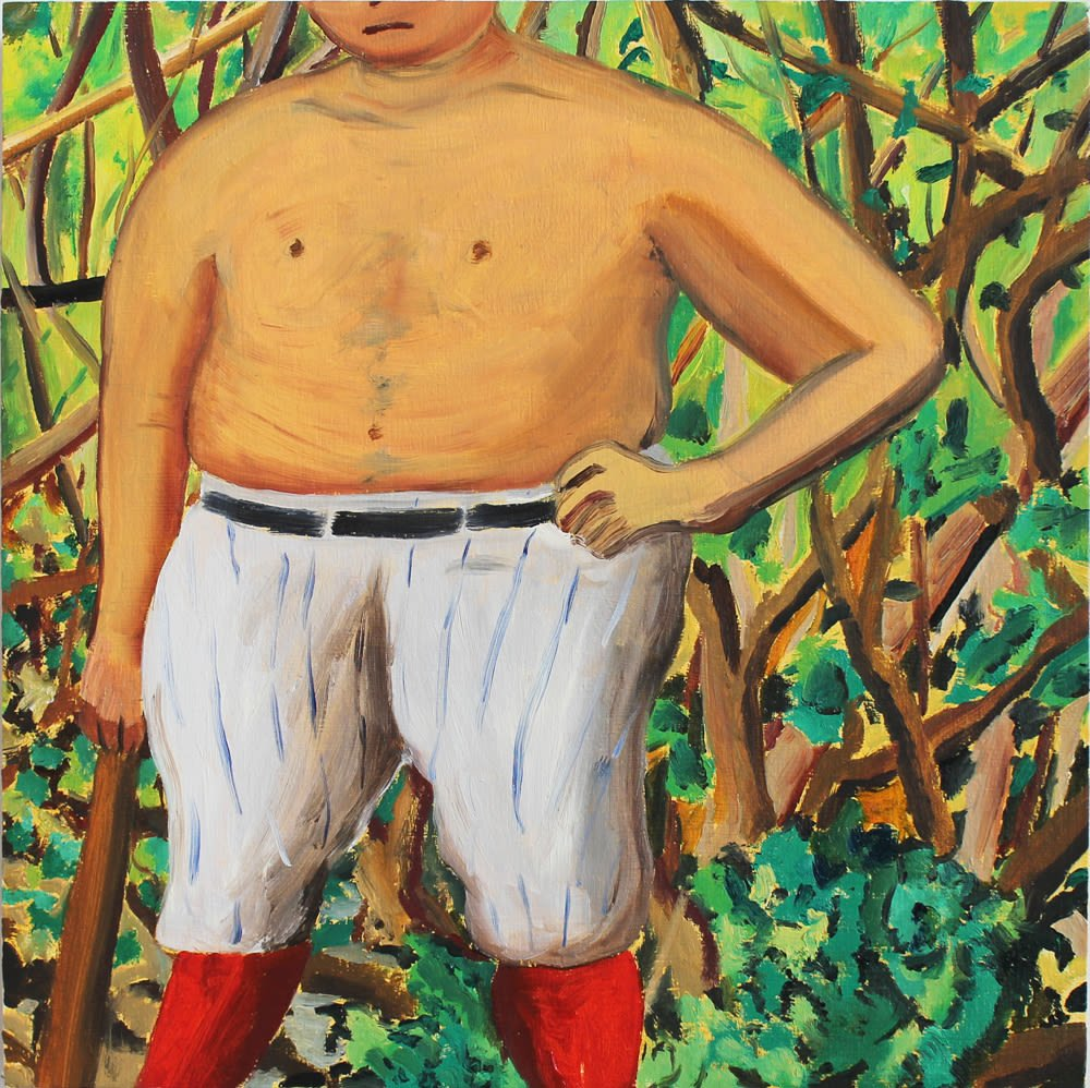 Qp 2 Man in woods