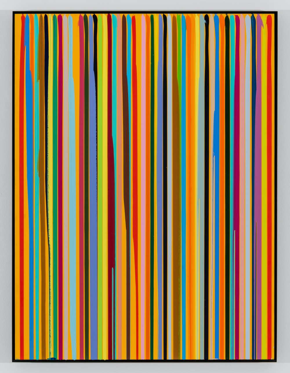 Poured Lines, Permanently Yellow