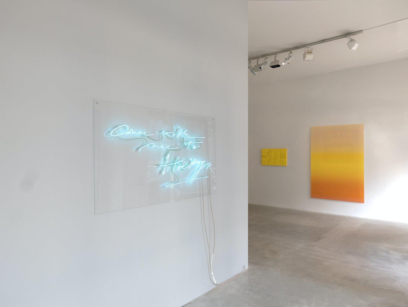 Laleh June Galerie Blue Pink Yellow 2