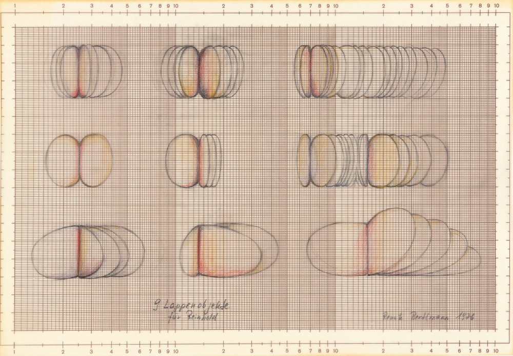 9 Lappenobjekte für Reinhold (9 Lobe objects for Reinhold)