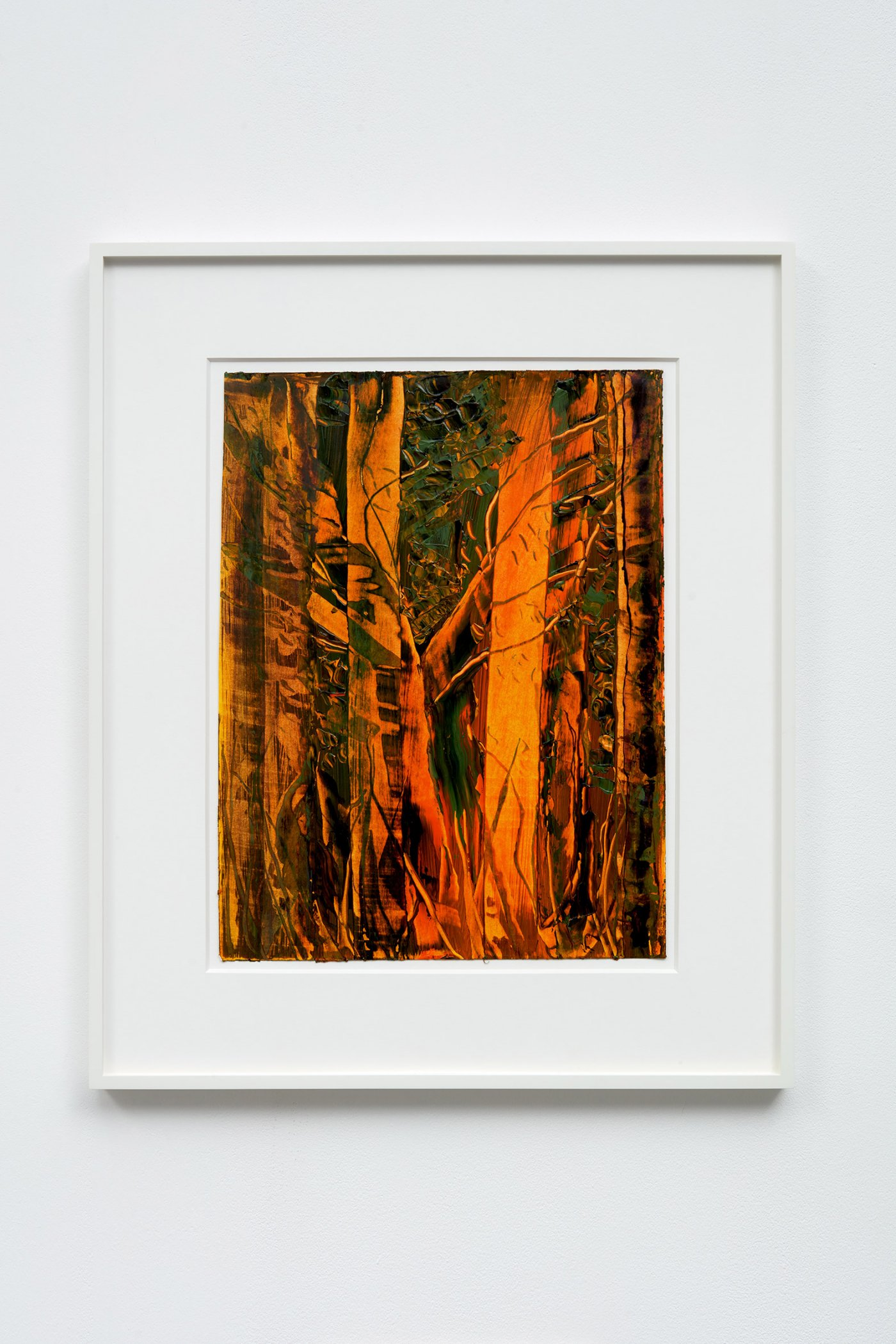 Forest Light (Dedicated to Cezanne)