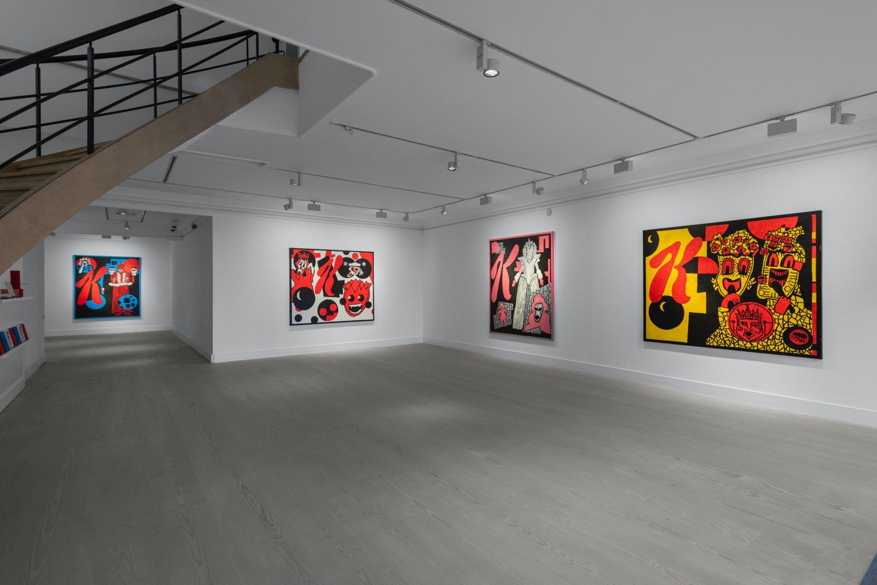 Gazelli Art House Derek Boshier 1