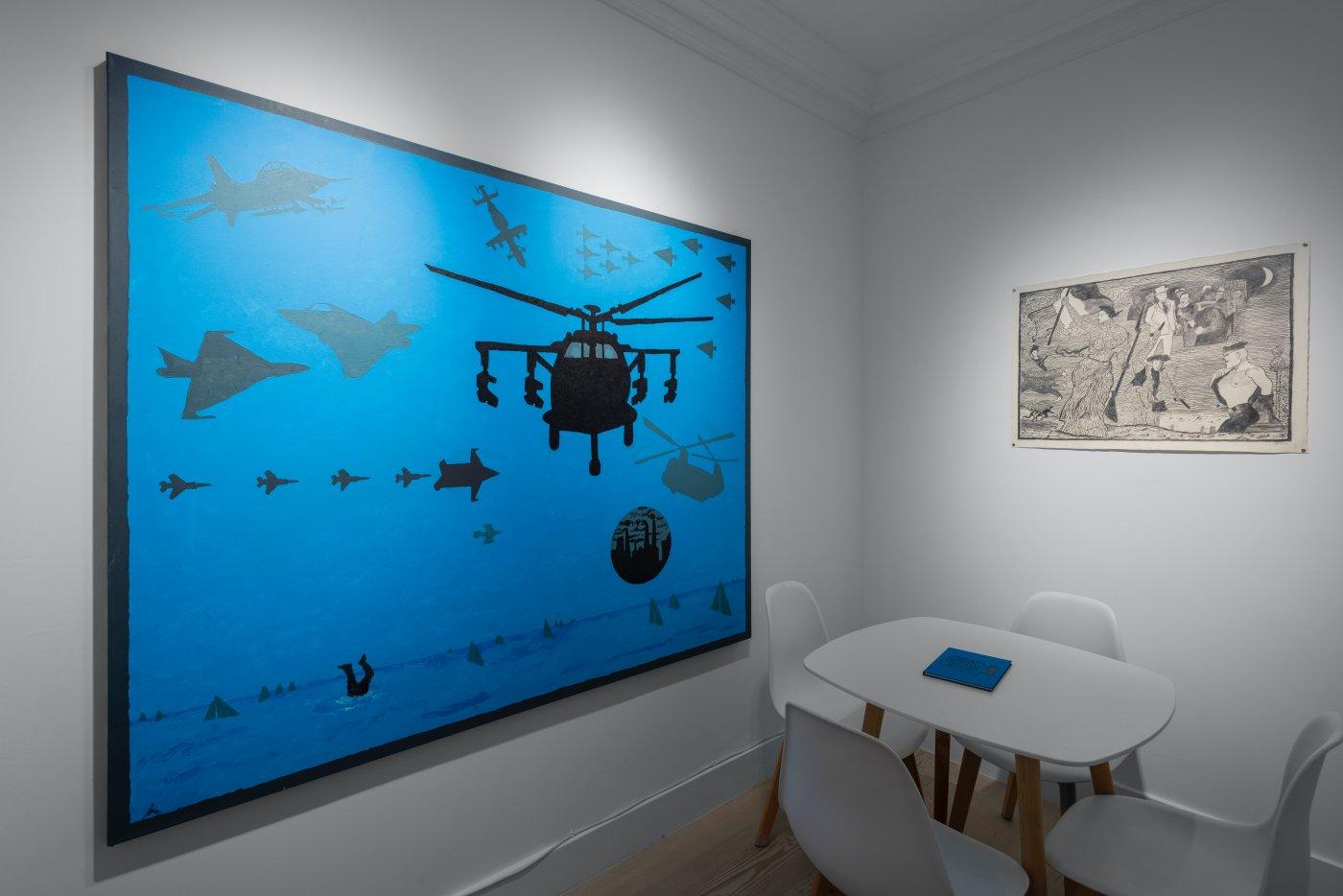 Gazelli Art House Derek Boshier 3