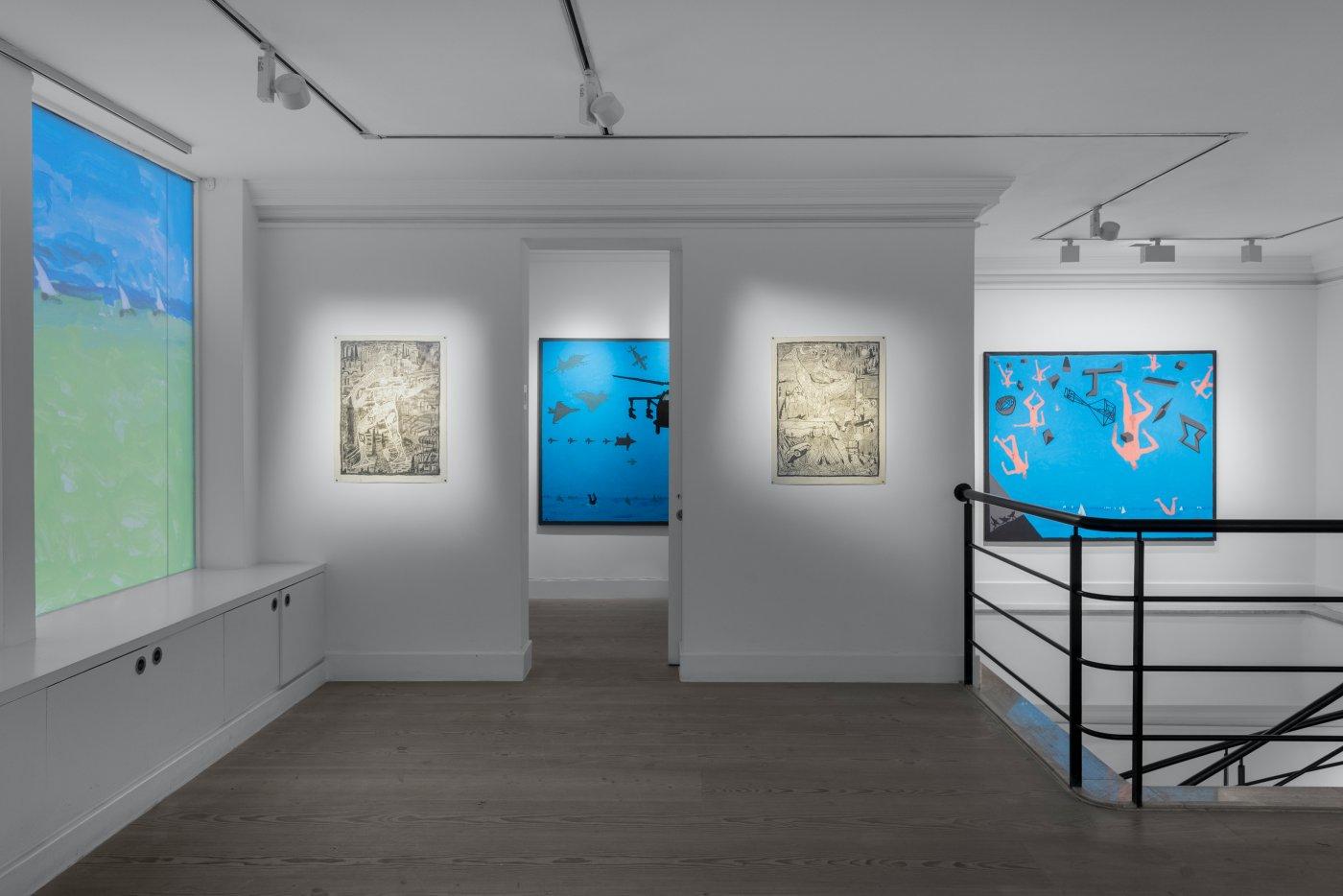Gazelli Art House Derek Boshier 4