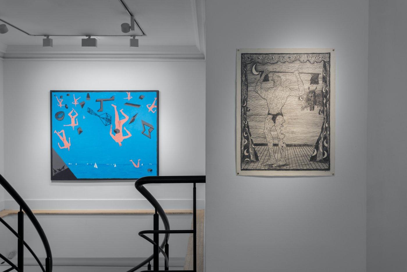Gazelli Art House Derek Boshier 5