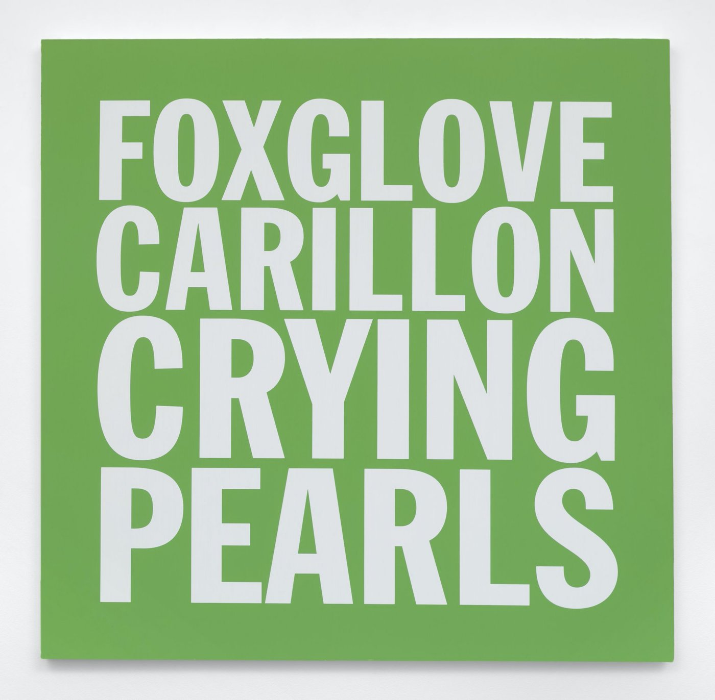 FOXGLOVE CARILLON CRYING PEARLS