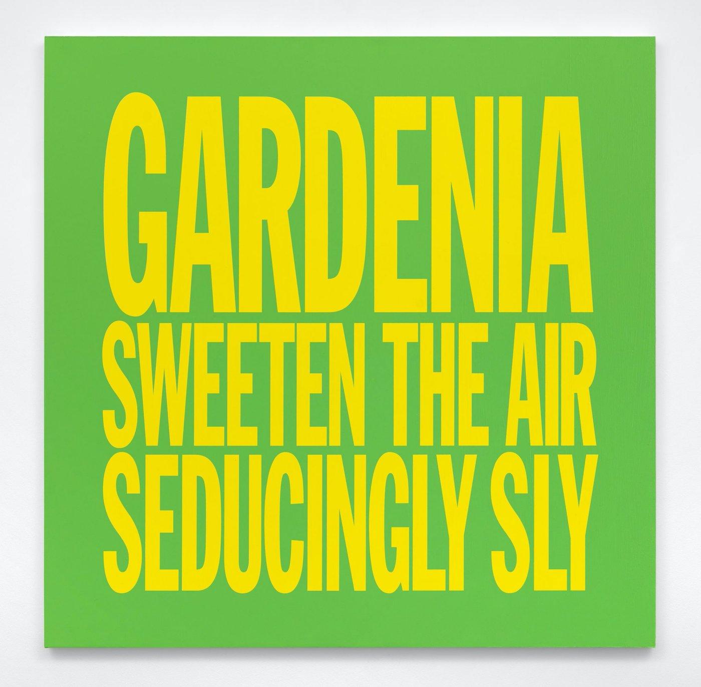 GARDENIA SWEETEN THE AIR  SEDUCINGLY SLY