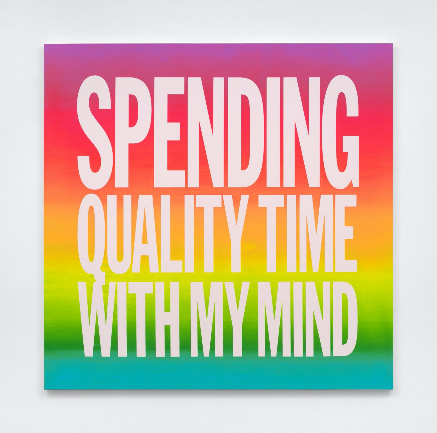 SPENDING QUALITY TIME WITH  MY MIND