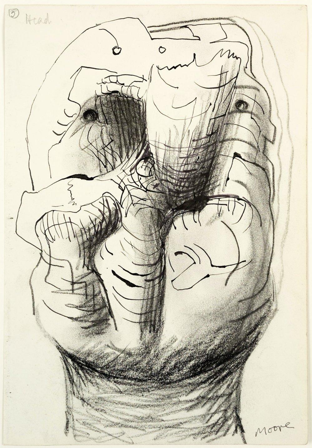 Idea for Sculpture: Head